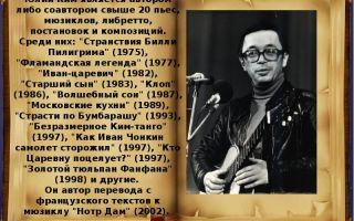 Краткая биография ким