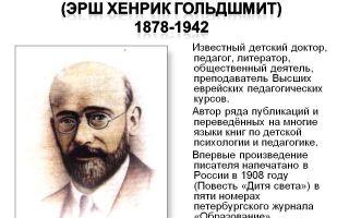 Краткая биография корчак