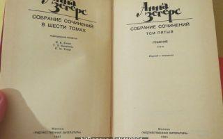 Сочинения об авторе зегерс