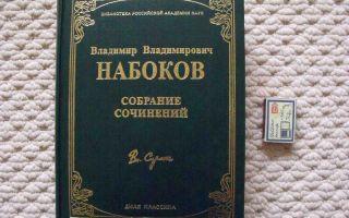 Сочинения об авторе набоков
