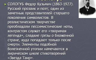 Краткая биография соллогуб