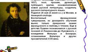 Краткая биография пу