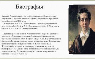 Краткая биография погорельский