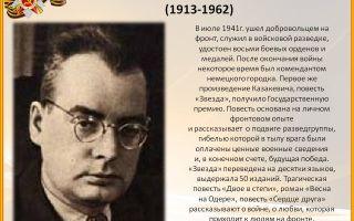 Краткая биография казакевич