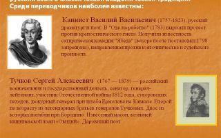 Краткая биография капнист