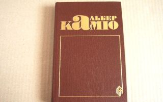 Сочинения об авторе камю