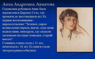 Сочинения об авторе ахматова