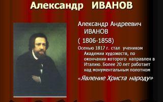 Краткая биография иванов в