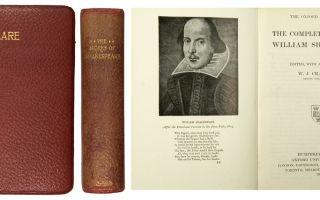 Сочинения об авторе шекспир