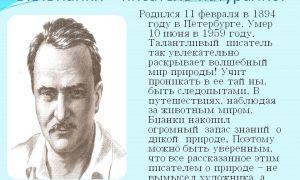 Краткая биография бианки