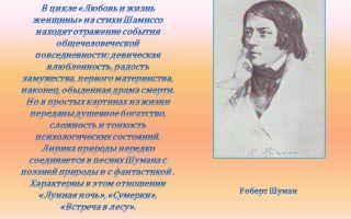 Сочинения об авторе шамиссо