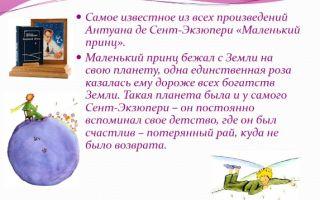 Сочинения об авторе экзюпери