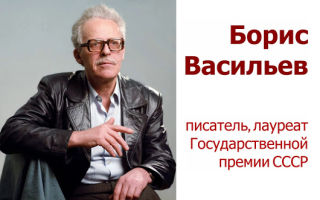 Краткая биография васильев
