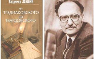 Сочинения об авторе лакшин