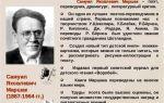 Сочинения об авторе маршак