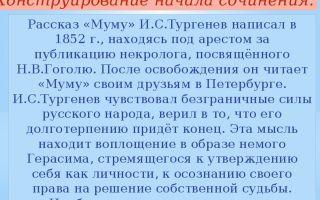Сочинения об авторе тургенев