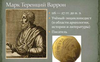Краткая биография теренций