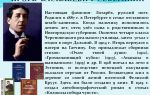 Краткая биография северянин