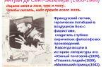 Сочинения об авторе сент-экзюпери