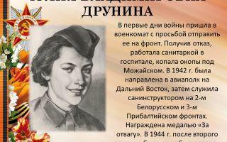Сочинения об авторе друнина