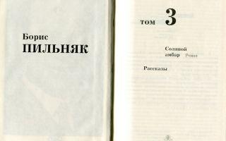 Сочинения об авторе пильняк