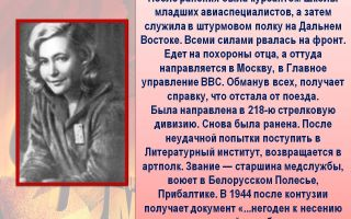 Краткая биография друнина