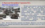 Краткая биография села